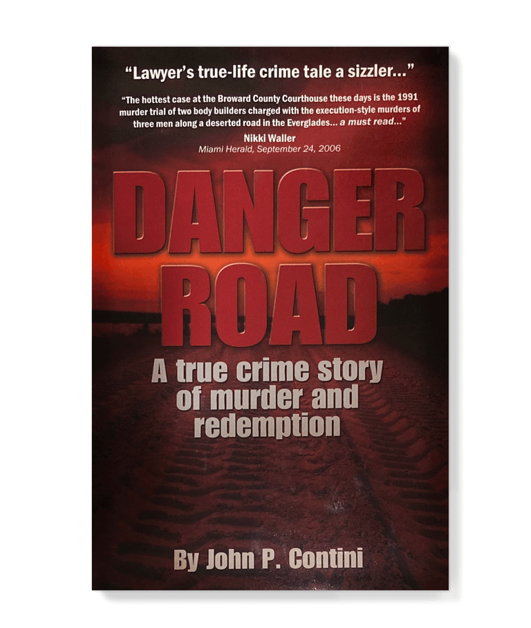 Danger Road Book by John P Contini